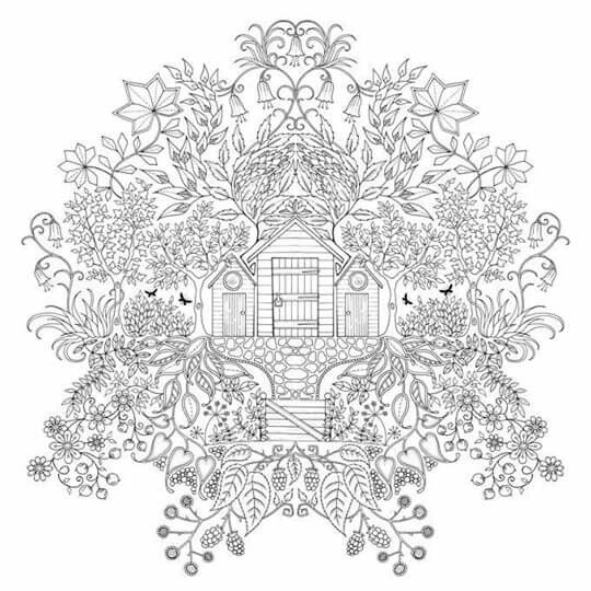 Garden Tattoos Johanna Basford Secret Gardens Coloring Pages Adult Colouring Google Search Watches Woodburning