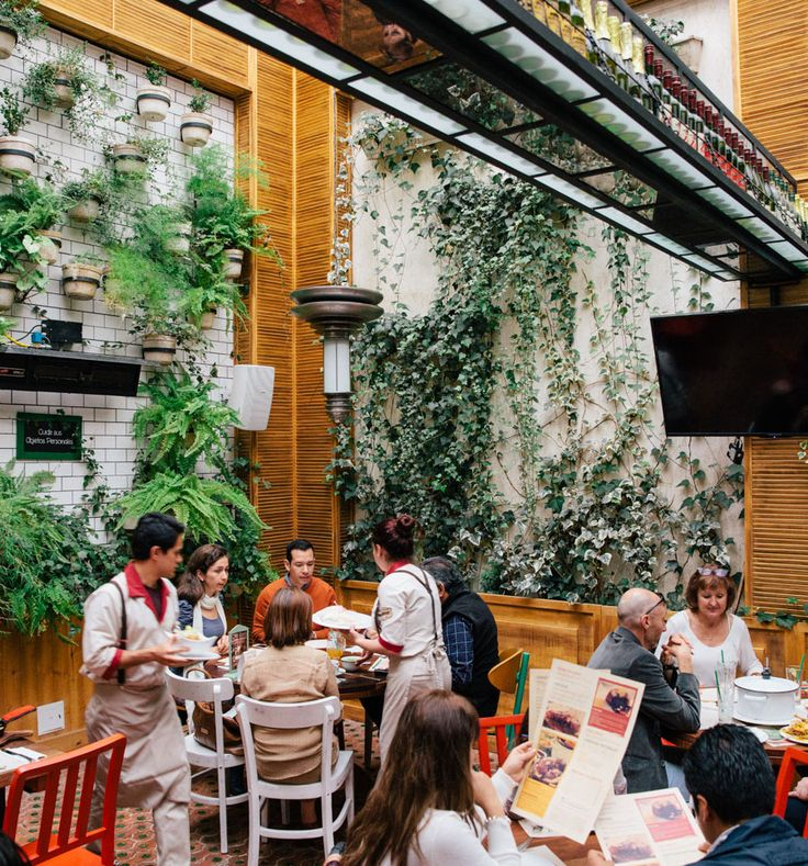 Bogota | EAT | Mercado : Farm-to-table Columbian style. Order Pollo Campensino (country-style chicken)