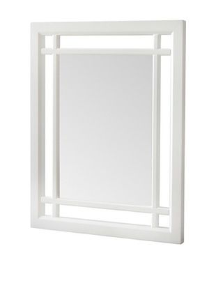 45% OFF Elegant Home Fashions Neal Mirror, White