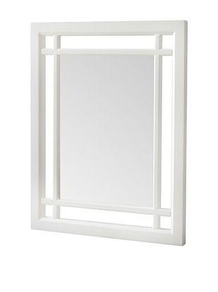 45% OFF Elegant Home Fashions Neal Mirror, White