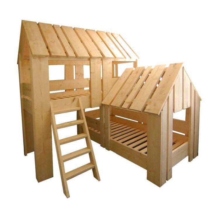 25 beste idee n over meisjes stapelbed op pinterest kinderbedden stapelbed decor en gedeelde - Bed voor een klein meisje ...