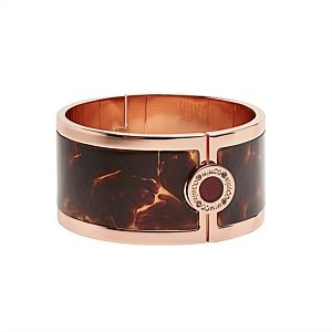 Statement bangle - rose gold