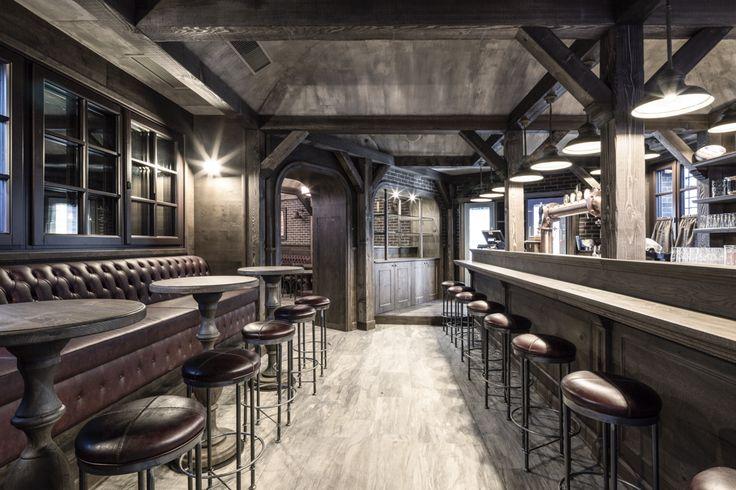Pub NUMERO UNO - Calvisano (BS) Italy #pub #design #interiordesign #visioni