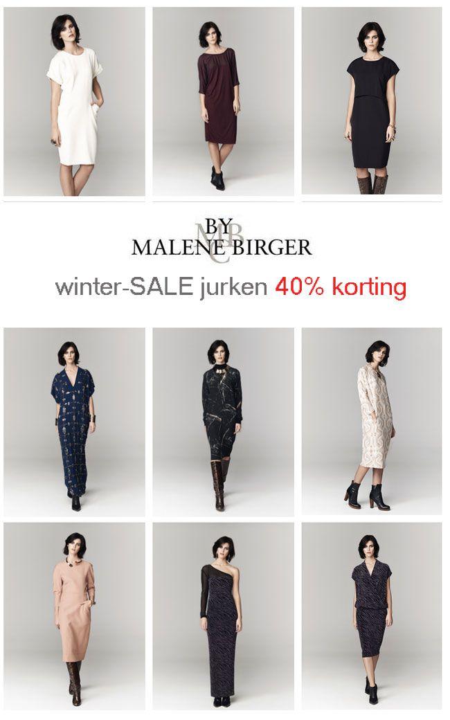 Wintersale 2014, By Malene Birger jurken - 40% korting.