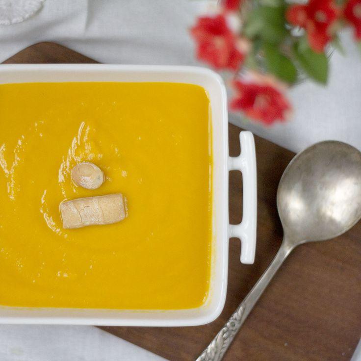 Cómo preparar crema de zanahoria y apio con Thermomix. Receta Detox « Trucos de cocina Thermomix