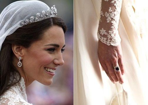 Kate Middleton's wedding jewelry | Bridal Jewelry