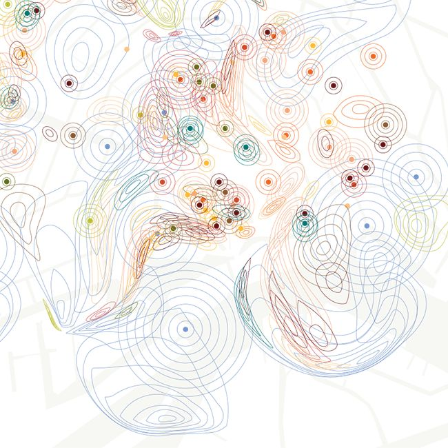 smell map Amsterdam - Kate McLean - RCA - 2014