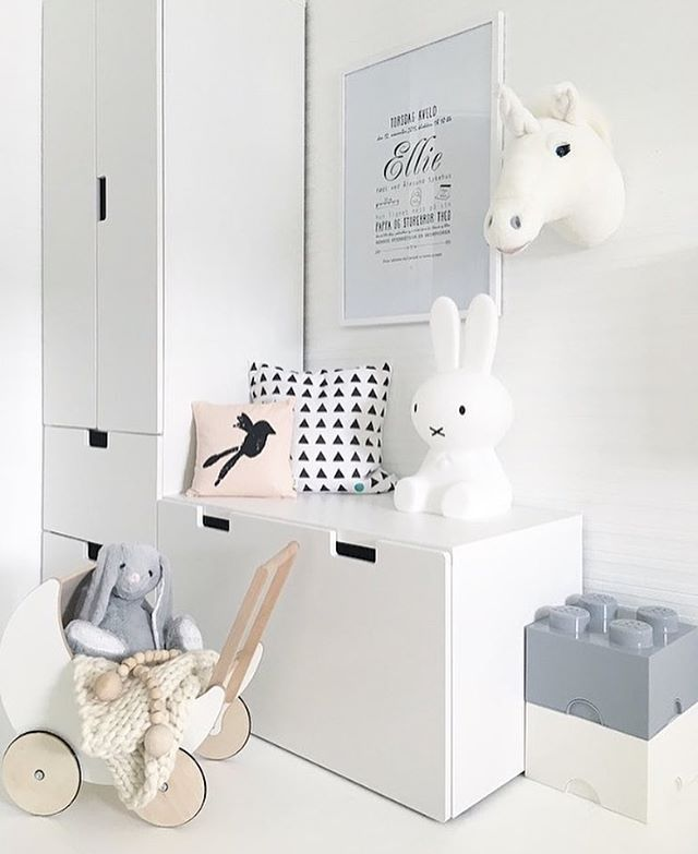 Our favourite Miffy lamp and Ooh Noo Toy pram, all available at www.istome.co.uk Image @nr13b