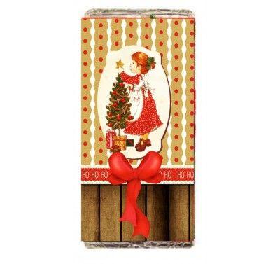 Σοκολάτα χριστουγεννιάτικο σχέδιο