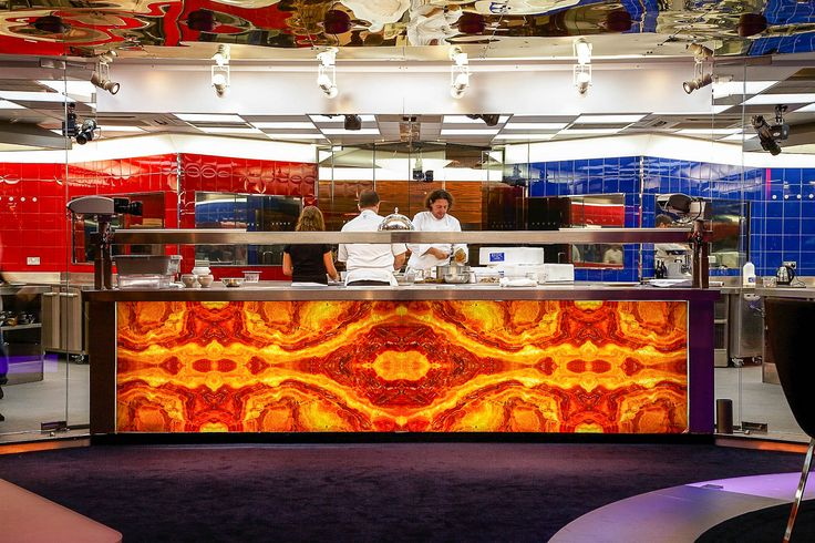 Hell's kitchen, Marco Pierre White, interior designed by blee design
