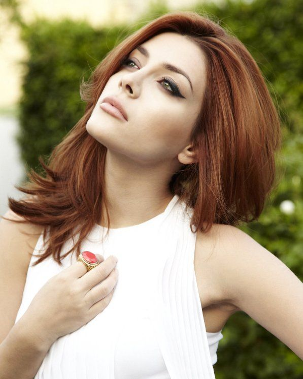 Elena Satine my latest hair crush. Love her red!