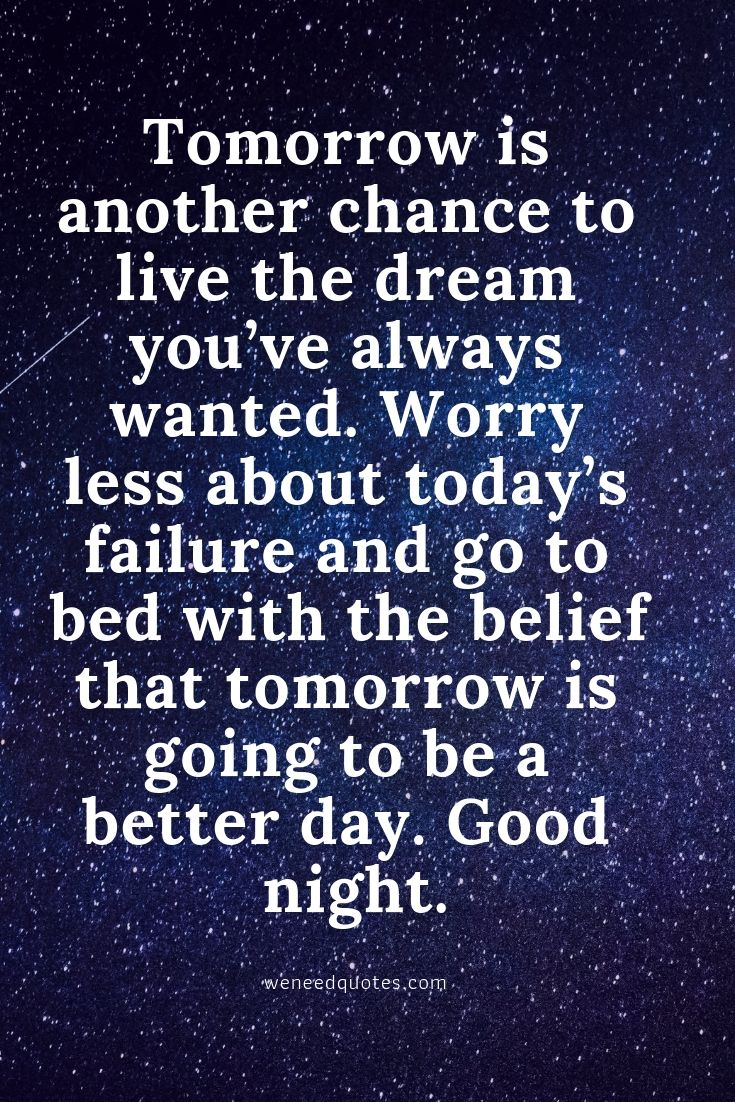 Inspirational Good Night Messages For Friends & Loved Ones