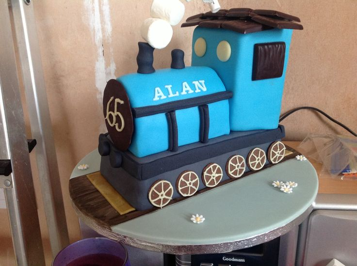 65 th birthday train for alan