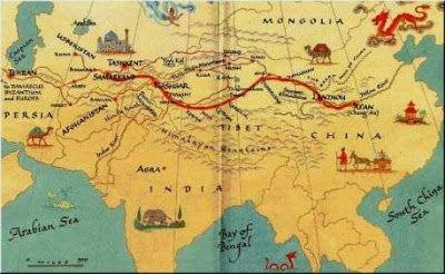 :: O fascinante universo da História ::: Rota da Seda: Infinita Highway