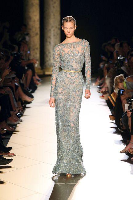 Elie Saab Spring 2013 Spring 2013 sexy dress glamour featured fashion Elie Saab black dress
