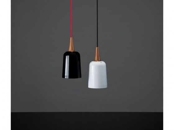 Tim webber design new zealand furniture ampel pendant black white