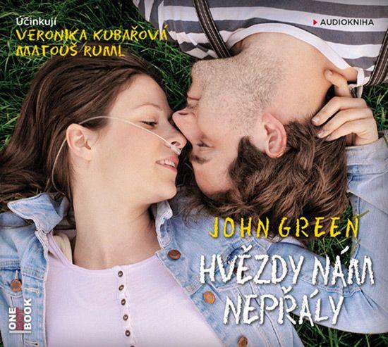 Celosvetovo úspešný bestseller amerického spisovateľa Johna Greena Hvězdy nám nepřály, ktorého filmová adaptácia bola v minulom roku uvedená aj do kín, vychádza ako audiokniha v podaní Veroniky Kubařovej a Matouše Rumla.