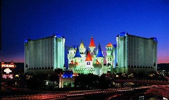 $49.87, $55.45, Excalibur Hotel Casino | Groupon  Thurs-$29.71, Sun-$35.29, for 2 queens room + $20 food and bev credit $20.16 Resort fee