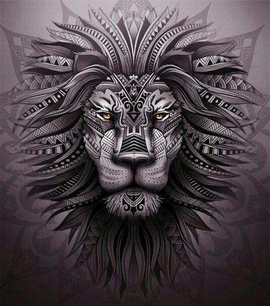 Leo Tattoo Design