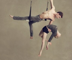 doubles static trapeze in cirque du soleil's 'totem'...one of my favorite acts