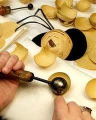 #millinery #judithm #hats #flowermaking