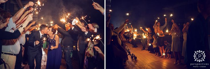 wedding sparkler exit photos nz