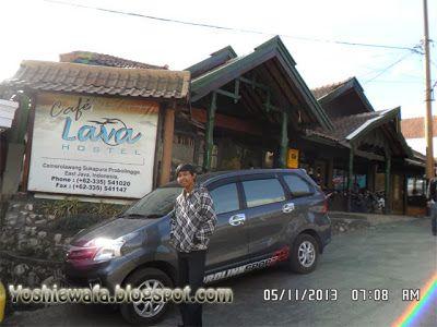 Cafe Lava Hostel di kawasan gunung Bromo