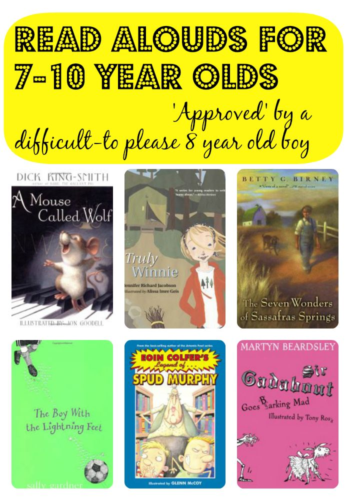 Storytime Standouts has great suggestions for chapter book read alouds for 7-10 year olds. #kidlit #chapterbooks #middlegradereaders