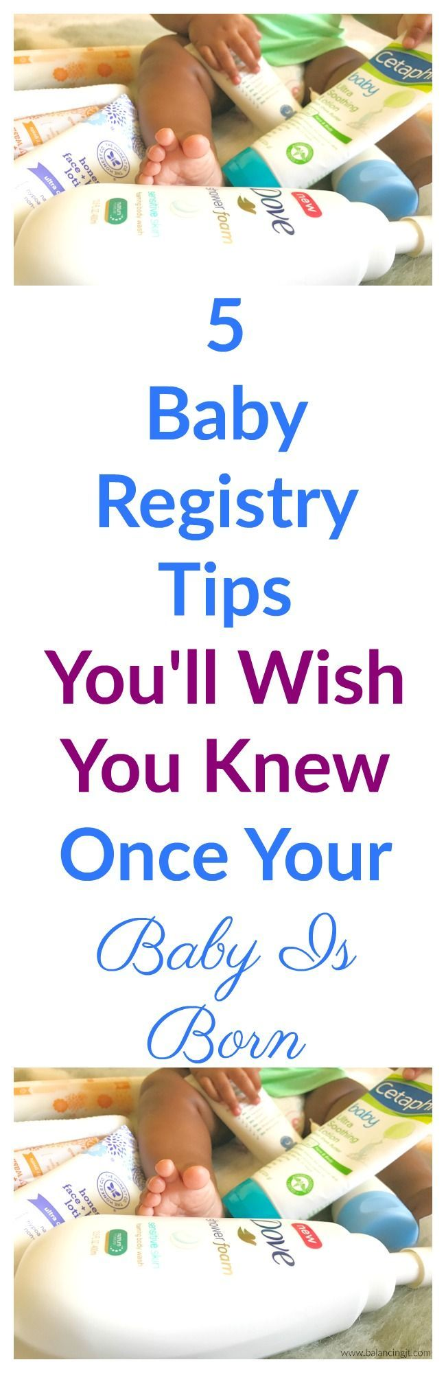 Here are a few baby registry tips, I wish I knew while I was building my registry that I quickly learned after my baby was born.