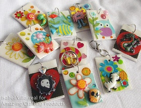 Amazing Mold Putty: Fun and Easy Key Chain Fobs... AMAZING Inspiration by Isabel Villarreal