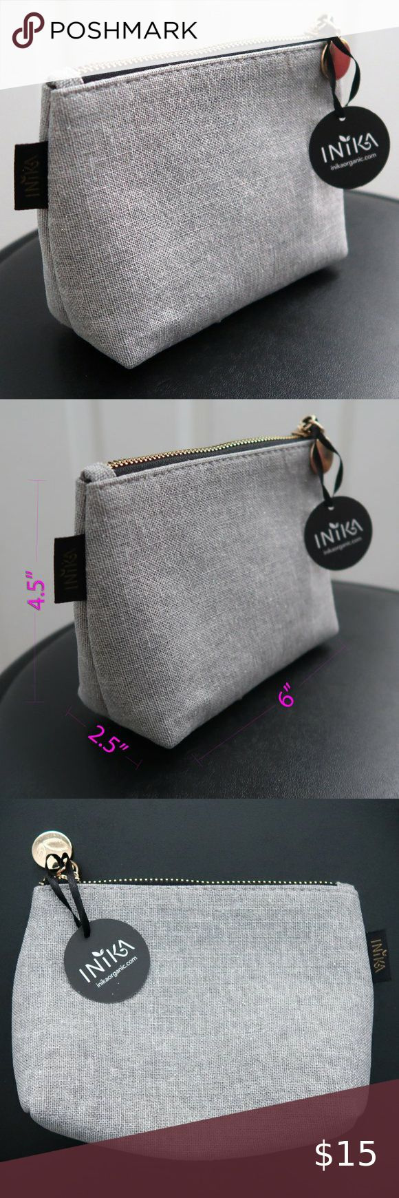 INIKA brand new Makeup Cosmetic Bag NWT sparkly Brand new