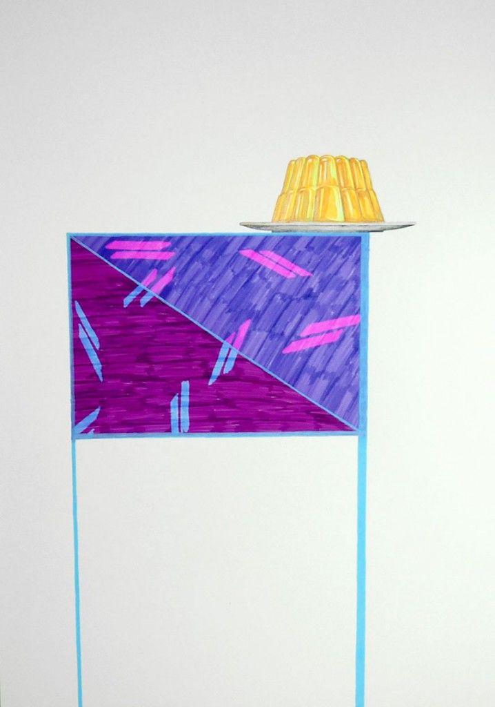 Ensayo sobre el vértigo.2014 50 x 70 cm (you and me and the cat )  Azucena González #vertigo #drawing #colors #art