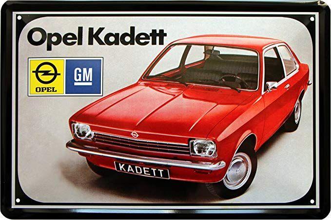 Das Auto Deko7 Blechschild 30 x 20 cm Opel Kadett