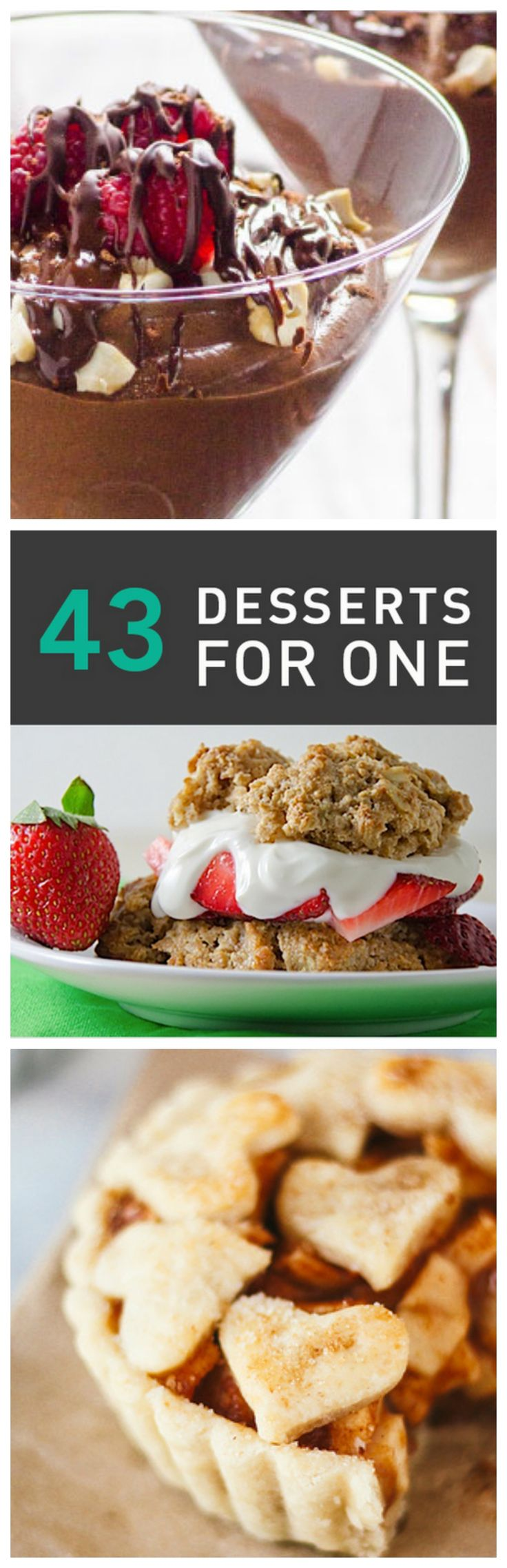 Cooking for One: 43 Ridiculously Delicious Single-Serving Dessert Recipes #dessert #recipes