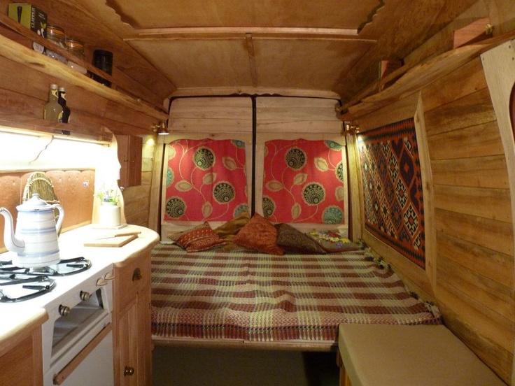 9 best van interiors images on pinterest gypsy caravan van