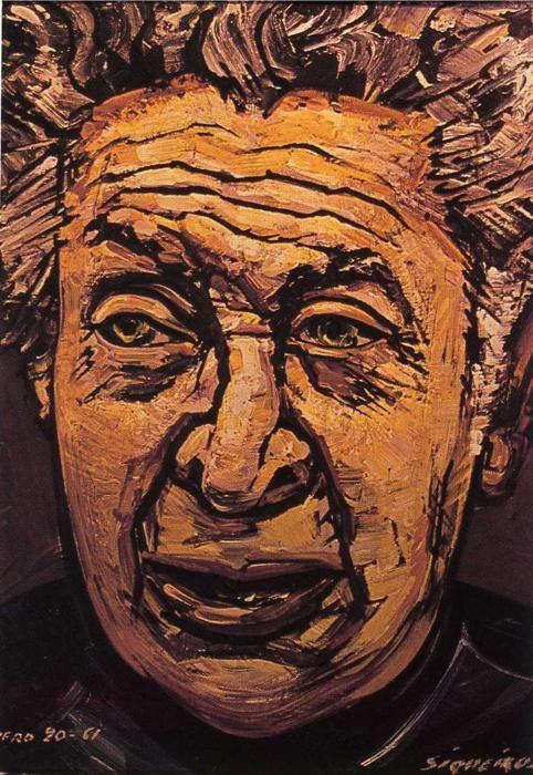 Autoportrait, par David Alfaro Siqueiros (1961)