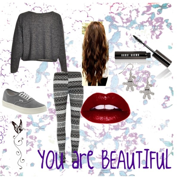 """You are BEAUTIFUL"" by isi-belieber3 on Polyvore"