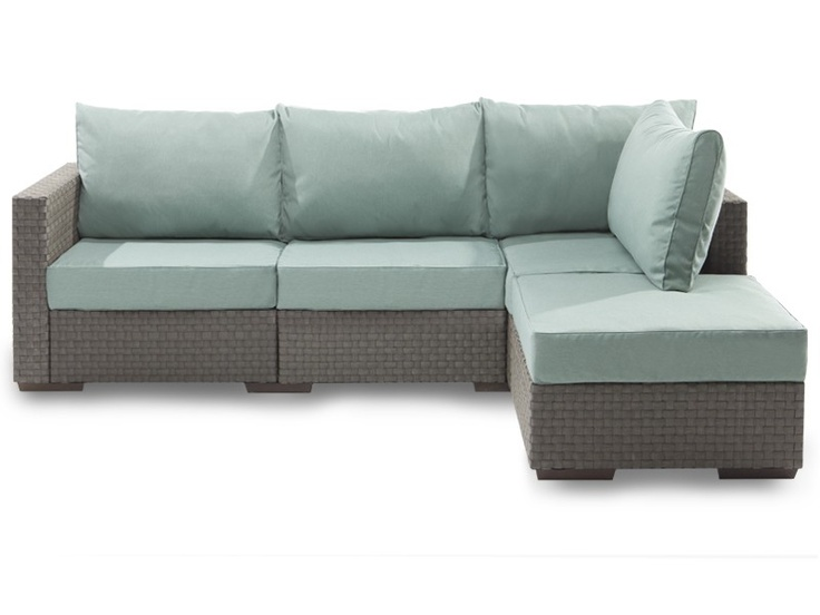 5s Outdoor Sactionals Chaise Sectional with Mediterranean Covers #Lovesac The most comfortable outdoor furniture!