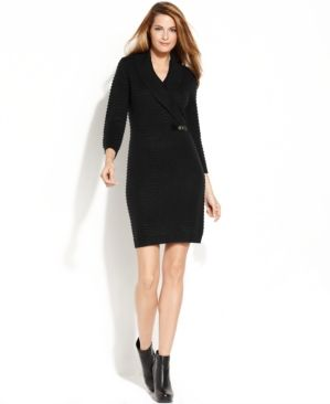 Shop Women's Calvin Klein Black size S Dresses at a discounted price at  Poshmark.
