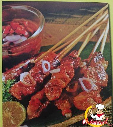 Resep Sajian Sate Ayam Bumbu Kacang, Bumbu Sate, Club Masak