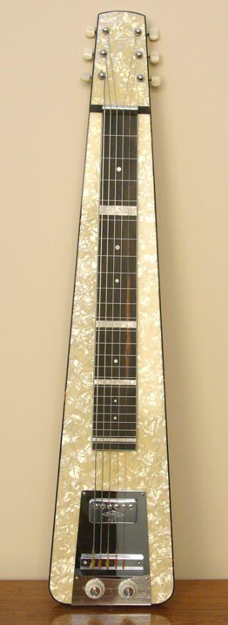 Rene de Bondt's Hofner Hawaiian Artist Guitar
