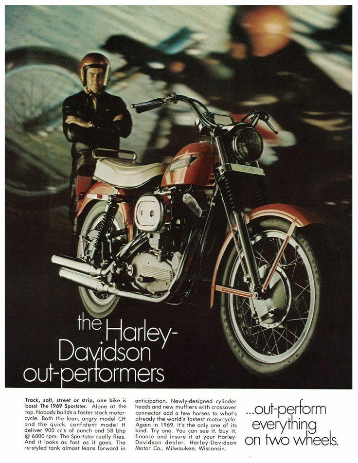 1969 Harley Sportster Advert