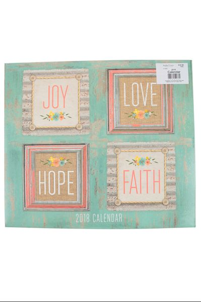 Brother Sister Design Studio 2018 Joy Love Hope Faith Deluxe Wall