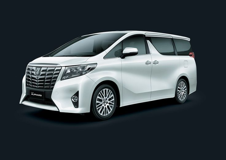 Toyota Alphard 2,5G - side front view - First Class Comfort for The Family - AUTO2000