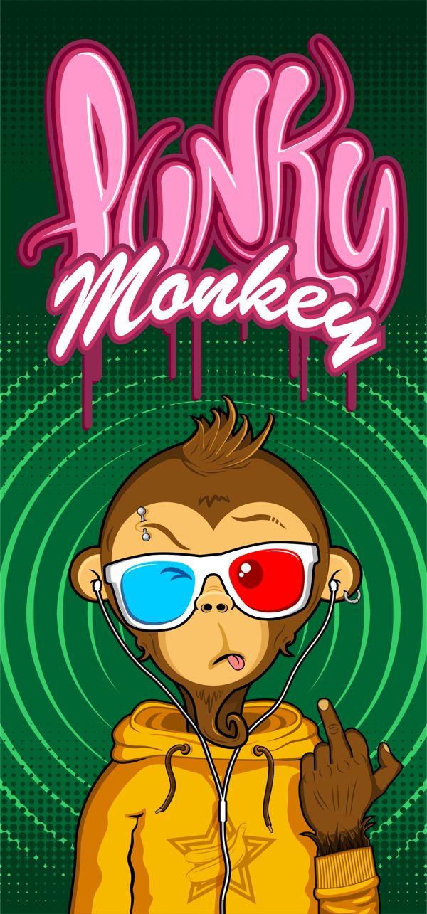 Punky Monkey on Behance