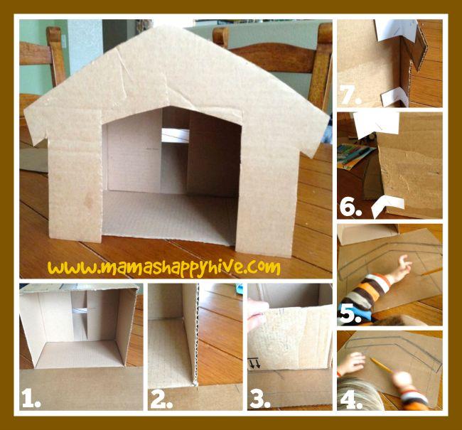 Cardboard Stable