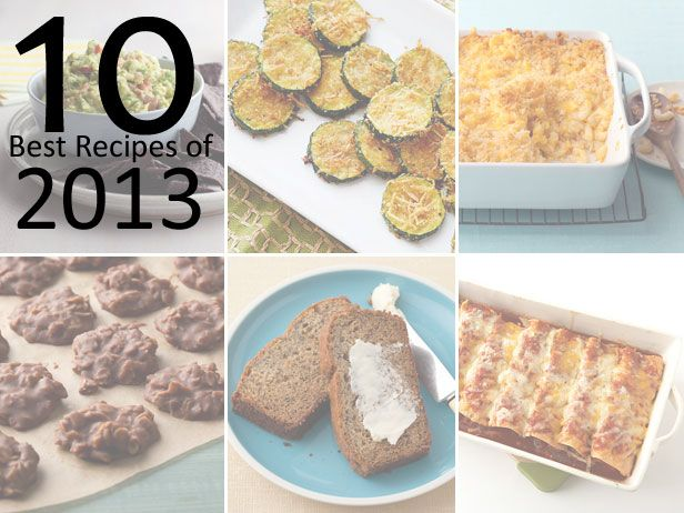Food Network's 10 Best Recipes of 2013: 2013 Dayrecipes Com, Dinnertime Favorites, 10 Best Recipes Of 2013 Food, Network S 10, Detox Recipe, Fn Dish, Network Recipes