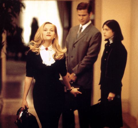 Reese Witherspoon brought Elle Woods to life as she embarked on a quest to prove that she had what it takes to be a top lawyer in Legally Blonde.