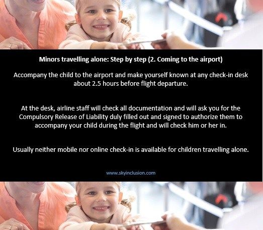 Minors travelling alone - Step2