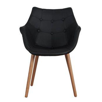 Židle Eleven Black Beech | Bonami